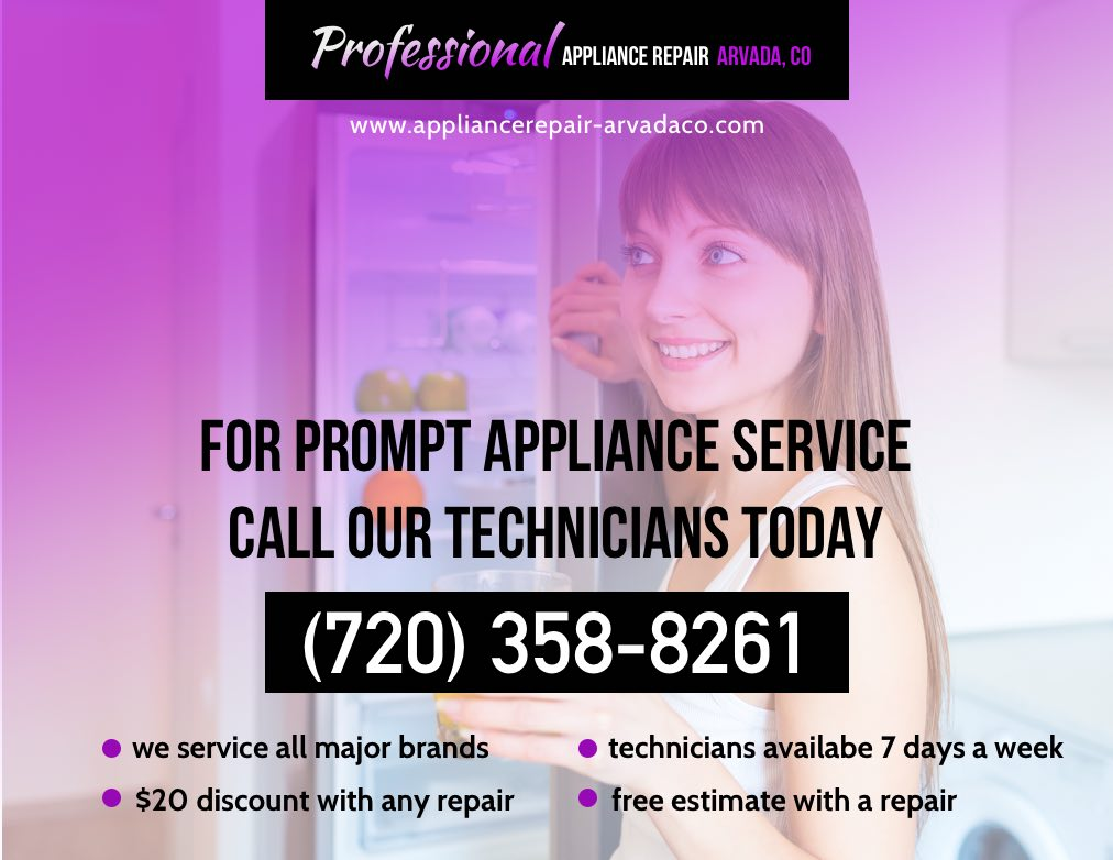 Refrigerator Repair In Arvada Co 720 358 8261